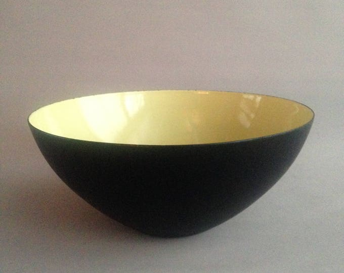 Krenit bowl pale yellow