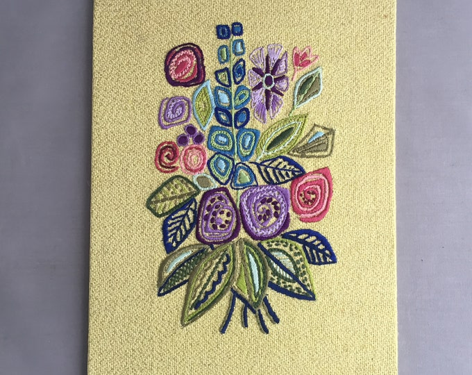 1960s embroidered picture