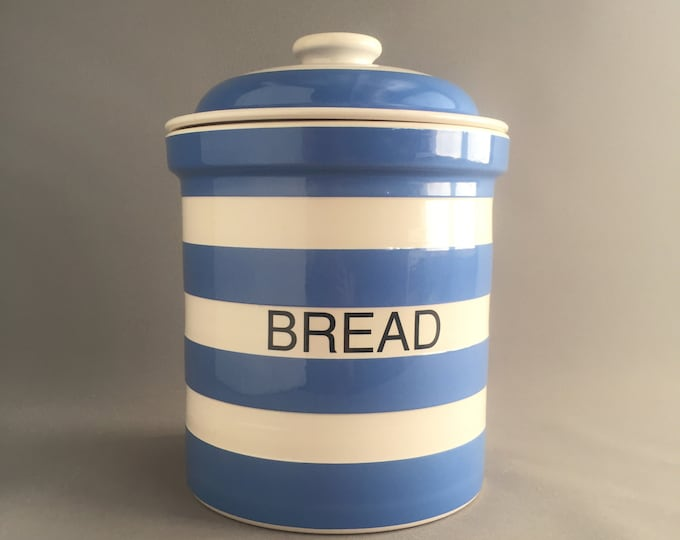 T.G Green Cornish Ware bread crock