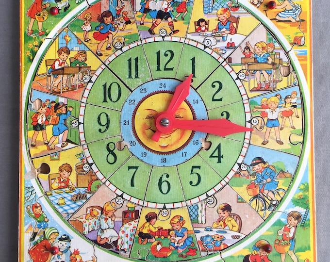 1960s clock puzzel