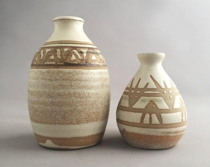 1970s pottery set