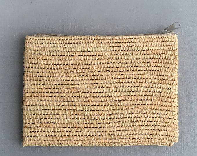 handmade raffia bag