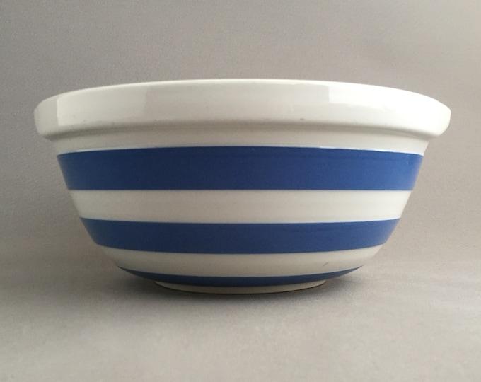T.G Green Cornishware large mixing bowl