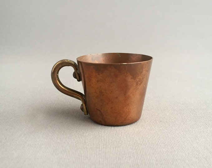 little copper cup