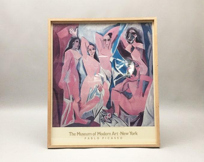 Picasso 'Les Demoiselles d'Avignon' framed print