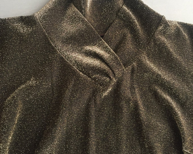 1970s lurex bodysuit