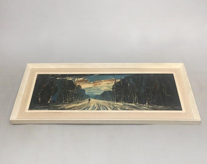 original oil painting by Edward Elliot
