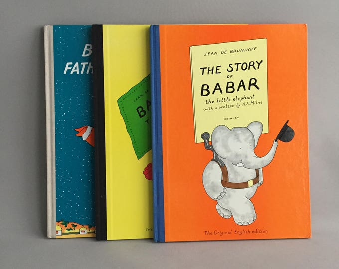 Babar big book collection