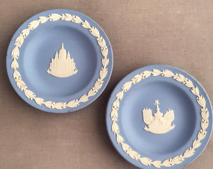 Wedgewood London souvenir plates