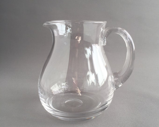 Dartington crystal jug