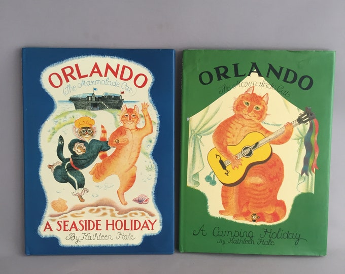Orlando the cat vintage picture books