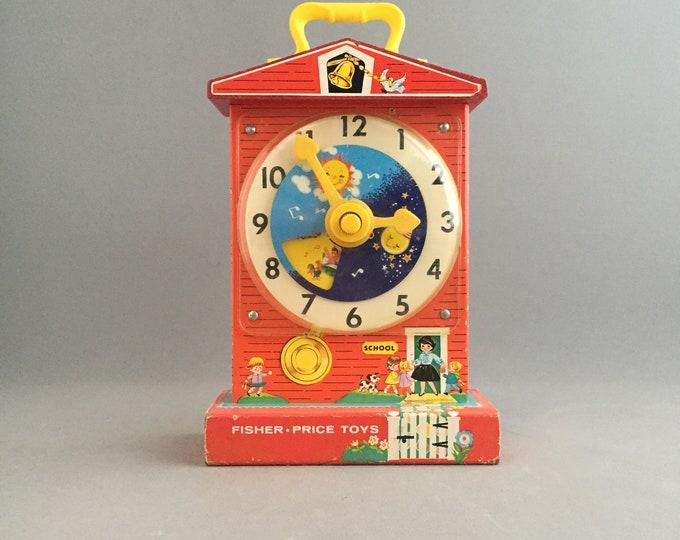 1960s Fisher price toy clock