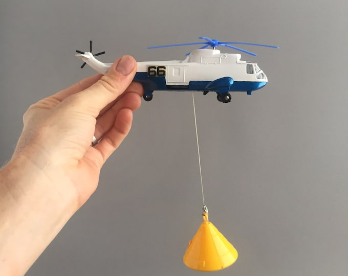 Dinky sea King Helicopter 724