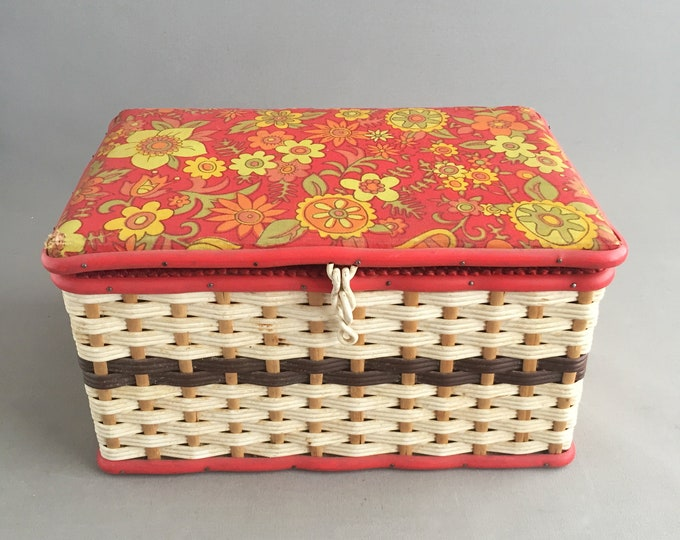 1960s sewing box
