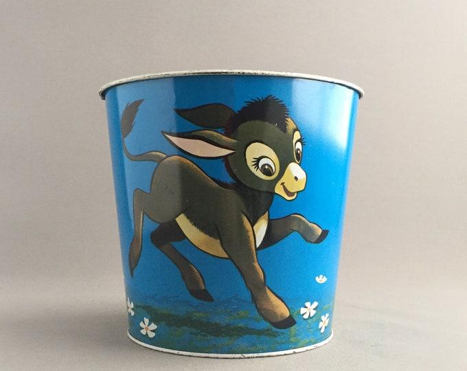 little donkey tin bin