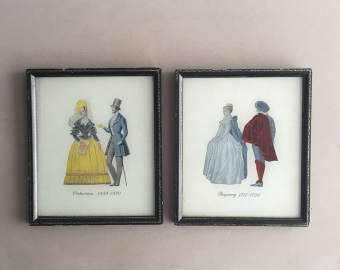 1950s framed pictures