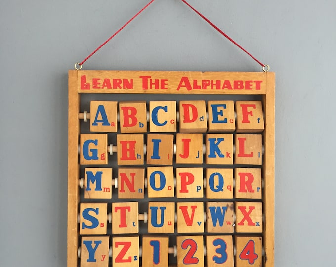 wooden Alphabet picture