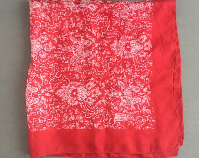 silk Liberty scarf