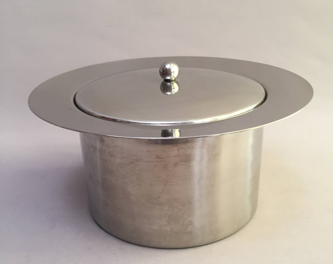 1970s stainless steel ice bucket