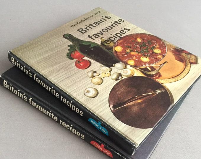 Birds eye vintage cook books - Britain's favourite recipes