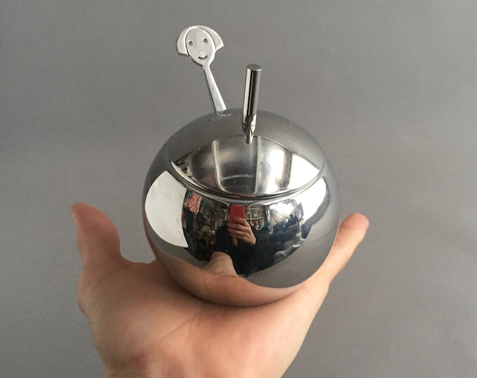 Anna sugar bowl and spoon by Alessi