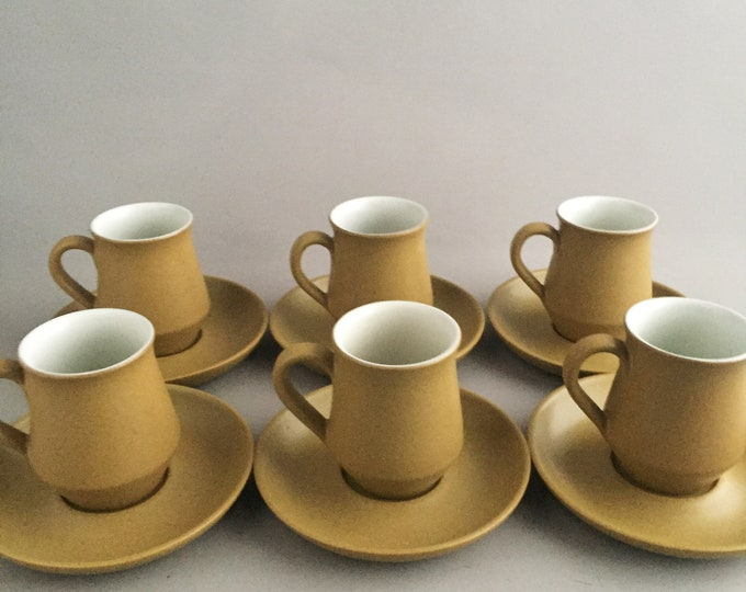 Denby coffee/tea set 1970s