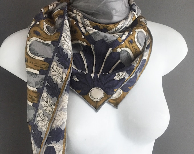 Large Lanvin pure silk scarf