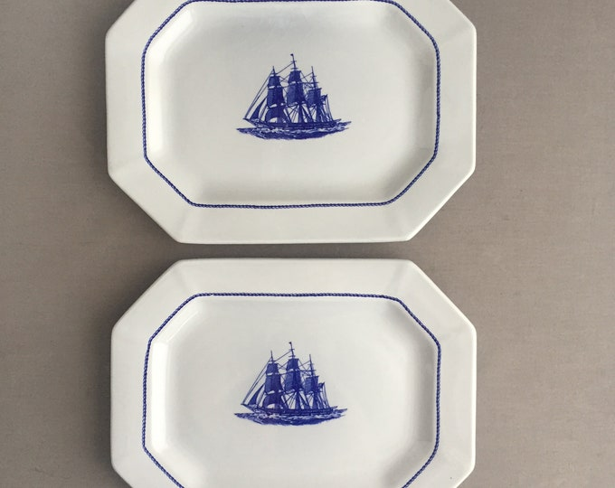 Wedgewood American clipper platters
