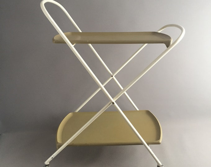Vintage oojamaflip mini fold trolley by staples and Co