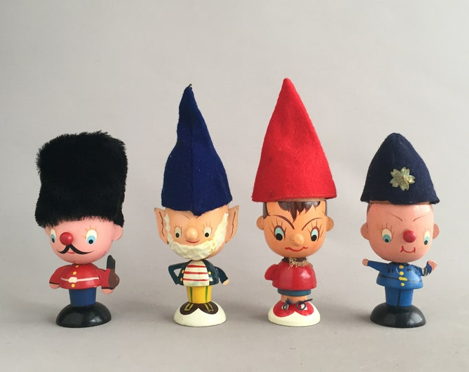 Noddy and friends egg cups