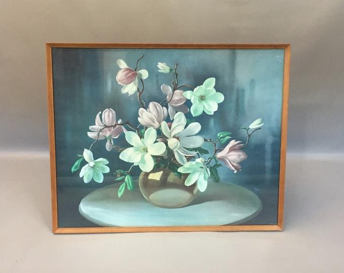 Large framed 1950s print