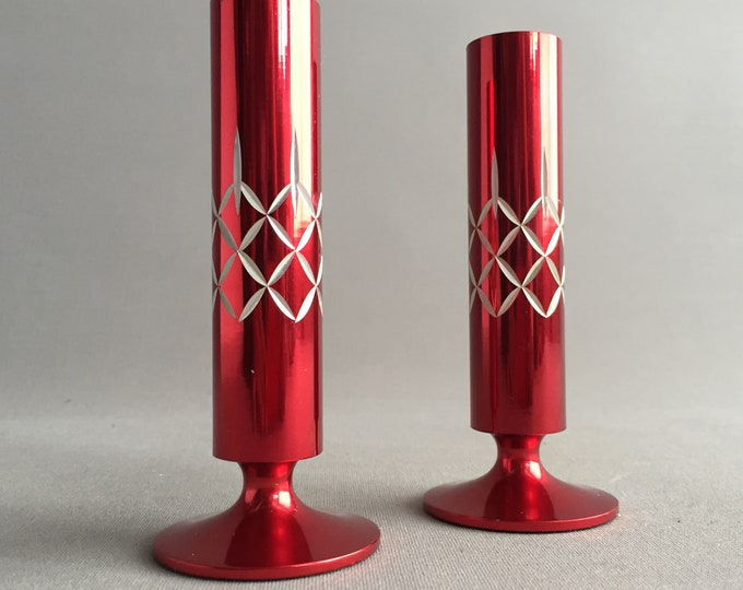 Conrah candlestick holders / bud vase