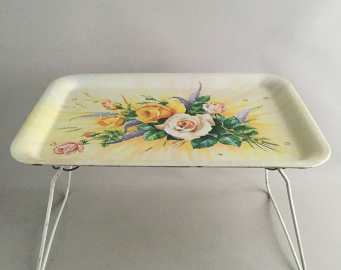 1950s tin bed  tray