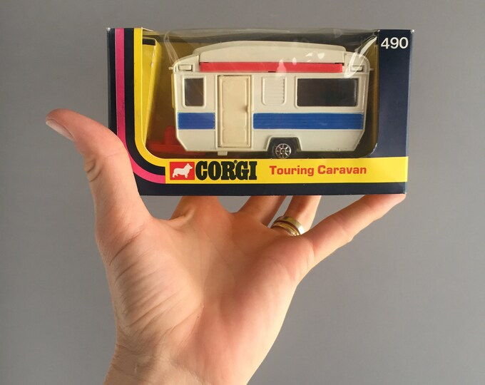Corgi 490 touring caravan