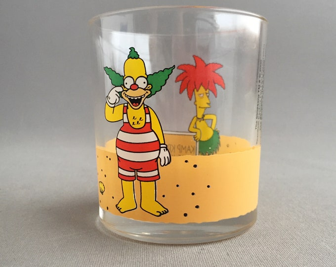 Krusty the clown tumbler by Nutella
