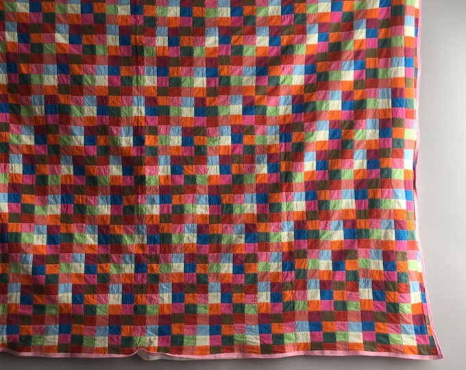 colourful patch work quilt
