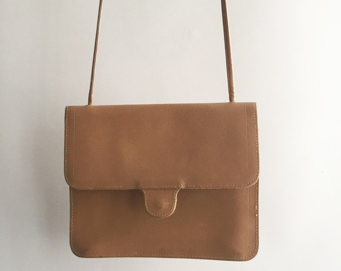 1970s Mundi leather cross body bag