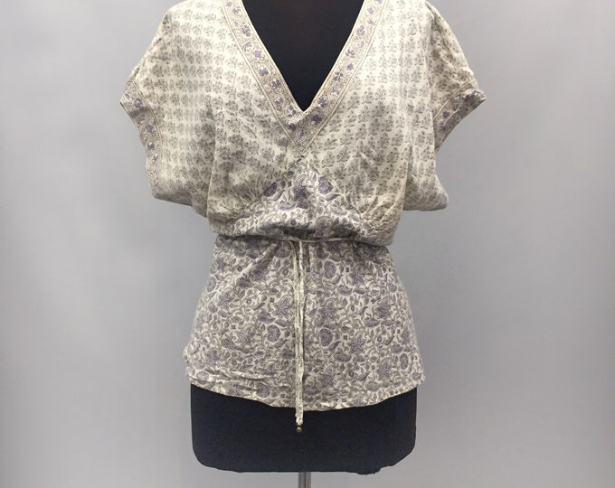 Indian cotton top