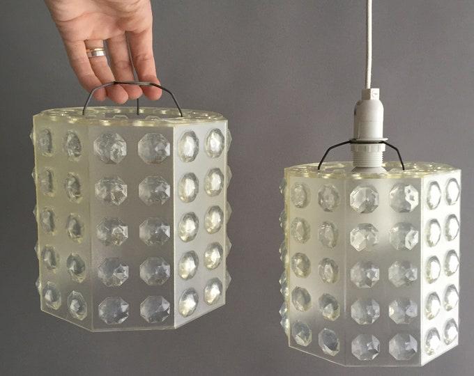 1960s plastic lampshades
