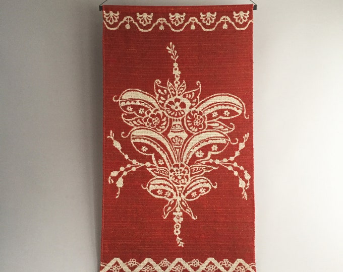 1970s wool wall hanging