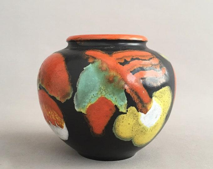 little decorative ceramic vase