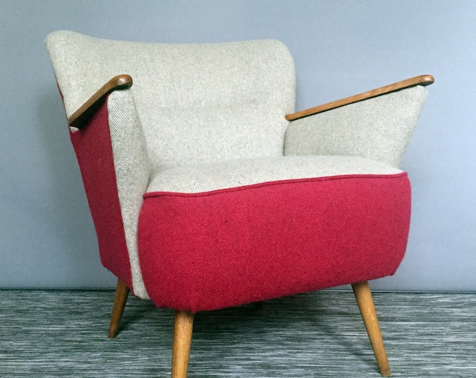1950s restored armchair