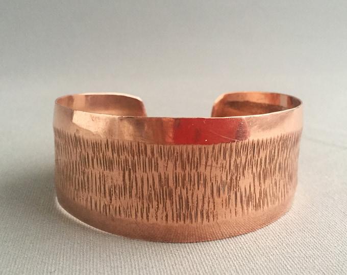 1970s copper cuff