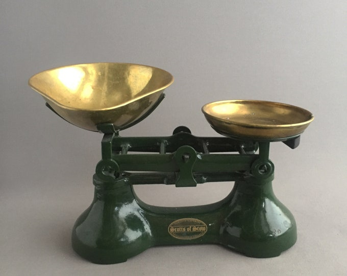Scotts of Stow old weighing scales