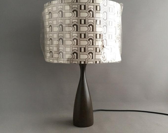 1970s lampbase and shade