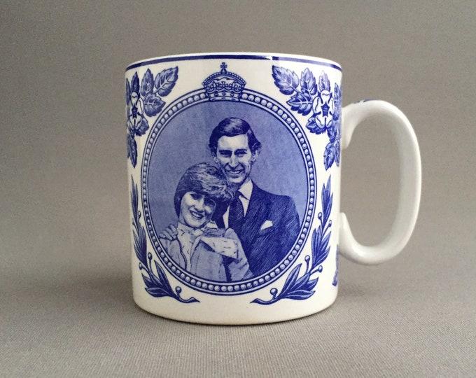 Spode Charles and Diana mug