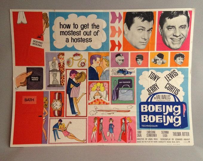 Original vintage film poster Boeing Boeing