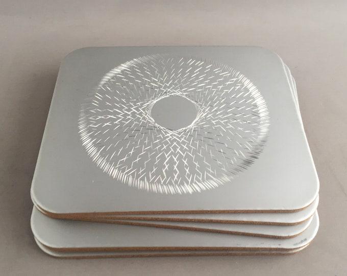 Conrah silver place mats