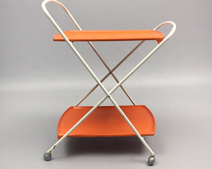 oojamaflip mini fold trolley by staples and Co