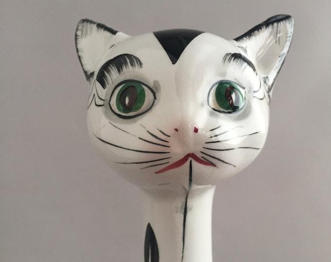 1960s retro cat ornament